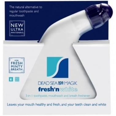 Dead Sea Spa Magik Fresh n White - 3 in 1, Toothpaste and Mouthwash
