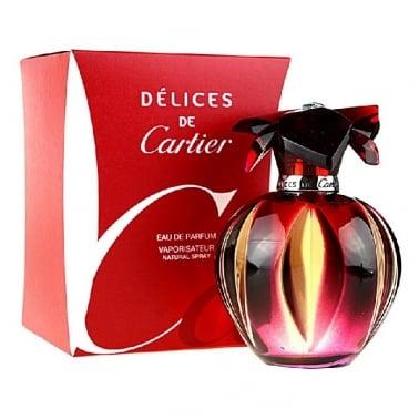 Cartier Delices De Cartier - 100ml Eau De Parfum Spray.