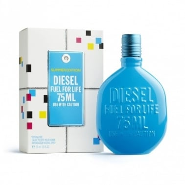 Diesel Fuel For Life Summer Pour Homme 2010 - 75ml Eau De Toilette Spray.
