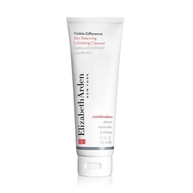 Elizabeth Arden Visible Difference Skin Balancing Exfoliating Cleanser 125ml.