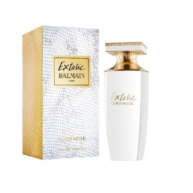 Balmain Extatic Gold Musk - 60ml Eau De Toilette Spray.