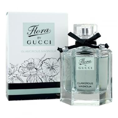 Gucci Flora Glamorous Magnolia - 50ml Eau De Toilette Spray.