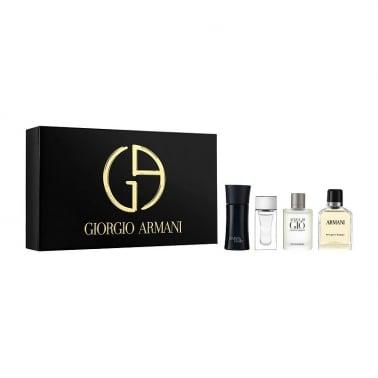 Giorgio Armani Miniature Set For Men - Includes 7ml Eau Pour Homme, Acqua Di Gio