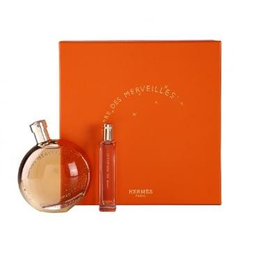Hermes L'Ambre Des Merveilles - 100ml Eau De Parfum Spray + 15ml Purse Spray