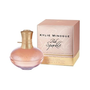 Kylie Minogue Pink Sparkle - 50ml Eau De Toilette Spray