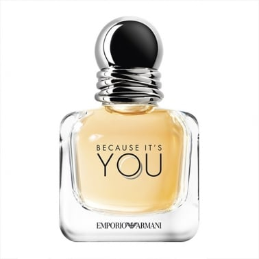 Emporio Armani Because It's You Pour Femme - 100ml Eau De Parfum Spray.