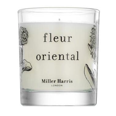 Miller Harris Fleur Oriental - 185g Scented Candle.