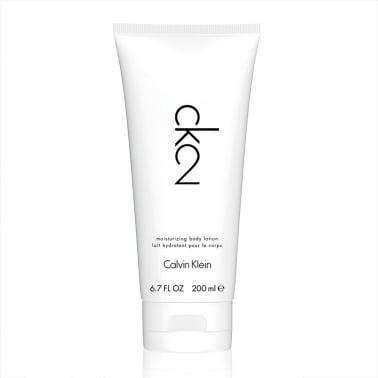 Calvin Klein CK2 For Men and Women - 200ml Perfumed Body Lotion.