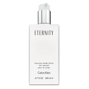 Calvin Klein Eternity For Women - 200ml Luxurious Body Lotion.