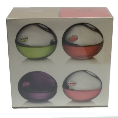 DKNY Be Delicious Travel Miniature Set of 4 - Includes Be Delicious, Night,