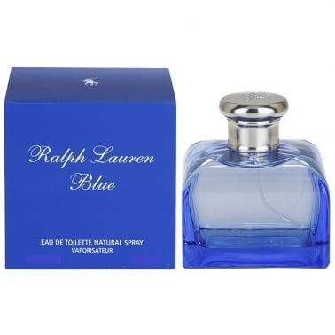 Ralph Lauren Blue For Women - 75ml Eau De Toilette Spray With Free Body Lotion.