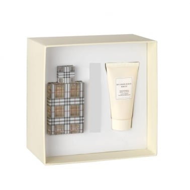 Burberry Brit For Women - 50ml EDT Gift Set With 100ml Body Lotion, DAMAGED BOX