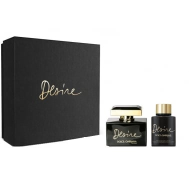 Dolce and Gabbana The One Desire -  50ml EDP Gift Set With 100ml Body Lotion.