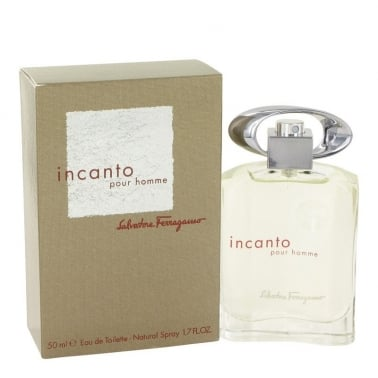 Salvatore Ferragamo Incanto Pour Homme - 50ml EDT + Free 50ml Shower Gel.