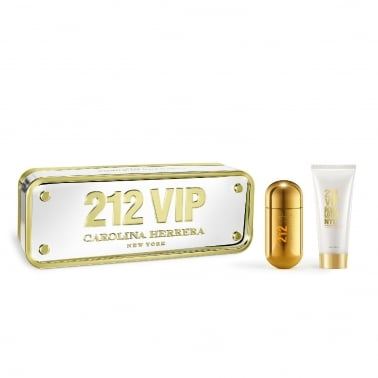 Carolina Herrera 212 Vip For Women - 50ml Gift Set, DAMAGED BOX.