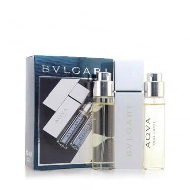 Bvlgari Aqua Pour Homme - 3 x 15ml EDT Refillable Spray.