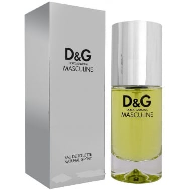 Dolce & Gabanna Masculine - 30ml Eau De Toilette Spray + FREE Shower Gel.