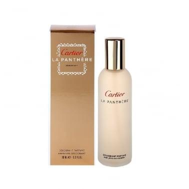 Cartier La Panthere - 100ml Perfumed Deodorant Spray.