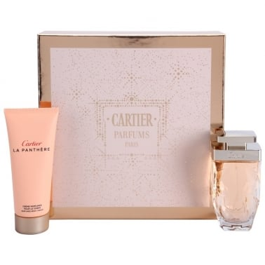Cartier La Panthere Legere - 50ml EDP Gift Set With 100ml Body Cream.
