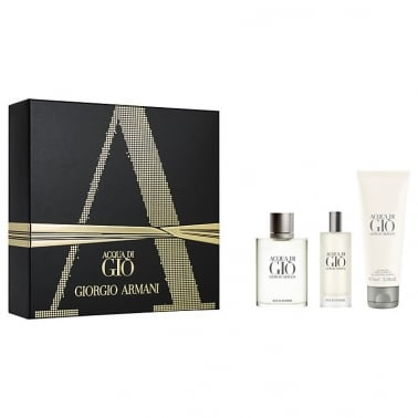 Giorgio Armani Acqua Di Gio Pour Homme - 50ml EDT Gift Set With Travel Spray