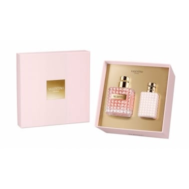 Valentino Donna - 100ml EDP Gift Set With 100ml Body Lotion,