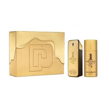 Paco Rabanne 1 Million - 100ml EDT Gift Set With 150ml Deodorant Spray.