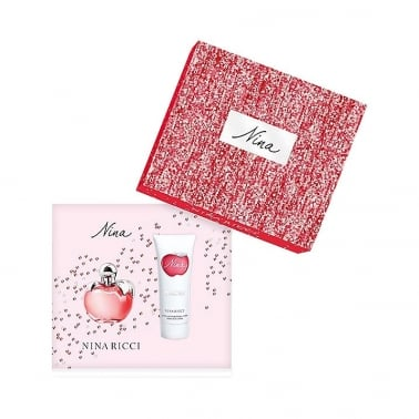 Nina Ricci Nina! - 50ml Gift Set and 75ml Perfumed Body Lotion.