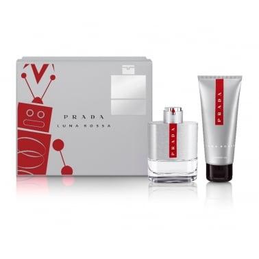 Prada Luna Rossa Homme - 50ml EDT Gift Set With 100ml Shower gel.