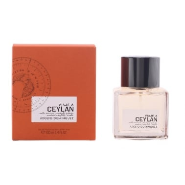 Adolfo Dominguez Viaje a Ceylan For Men - 100ml Eau De Toilette Spray, Damaged