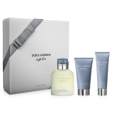 Dolce and Gabbana Light Blue Pour Homme - 125ml EDT Gift Set With Shower Gel