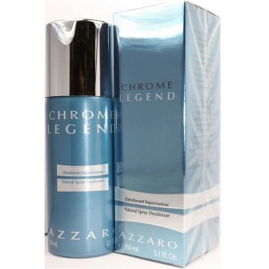 Azzaro Chrome Legend - 150ml Deodorant Spray, Damaged Box.