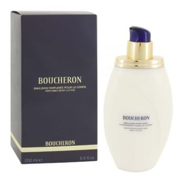 Boucheron Pour Femme - 200ml Perfumed Body Lotion, Damaged Box.