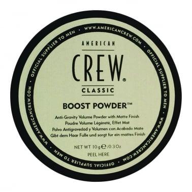American Crew Boost Powder Anti-Gravity Volume Powder With Matte Finish.