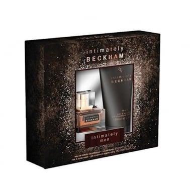 David Beckham Intimately For Men - 30ml EDT Gift Set & 150ml Hair and Body Wash.