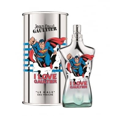 Jean Paul Gaultier Le Male Eau Fraiche Superman Edition - 125ml Eau De Toilette