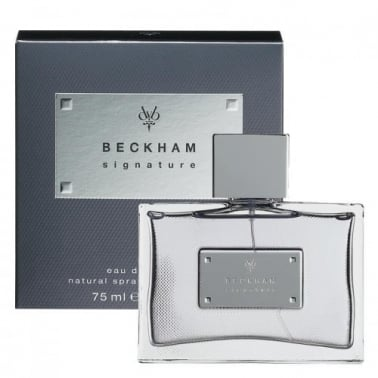 Beckham Signature for Men - 75ml Eau De Toilette Spray