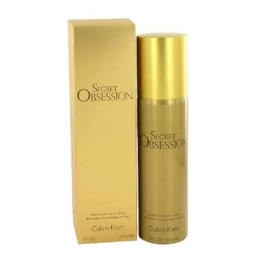 Calvin Klein Secret Obsession - 150ml Deodorant Spray, Damaged.