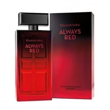 Elizabeth Arden Always Red - 100ml Eau De Toilette Spray.