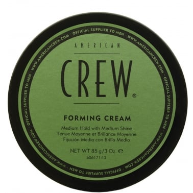 American Crew Forming Cream With Medium Hold and Shine 85g, All Hair Types.