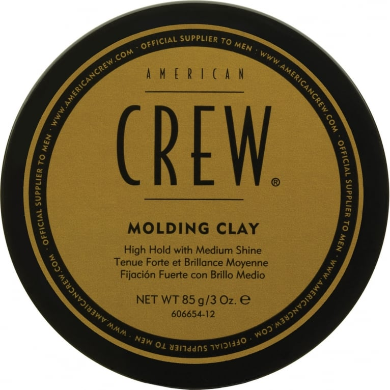American Crew Molding Clay With High Hold and Medium Shine 85g