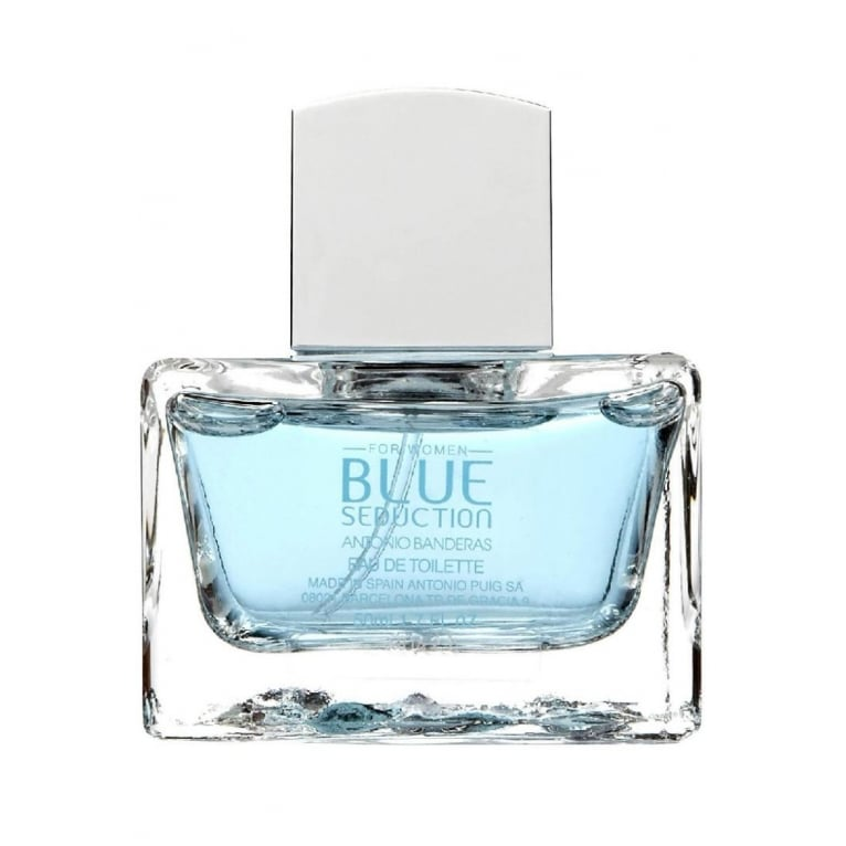 Antonio Banderas Blue Seduction For Her - 80ml Eau De Toilette Spray.