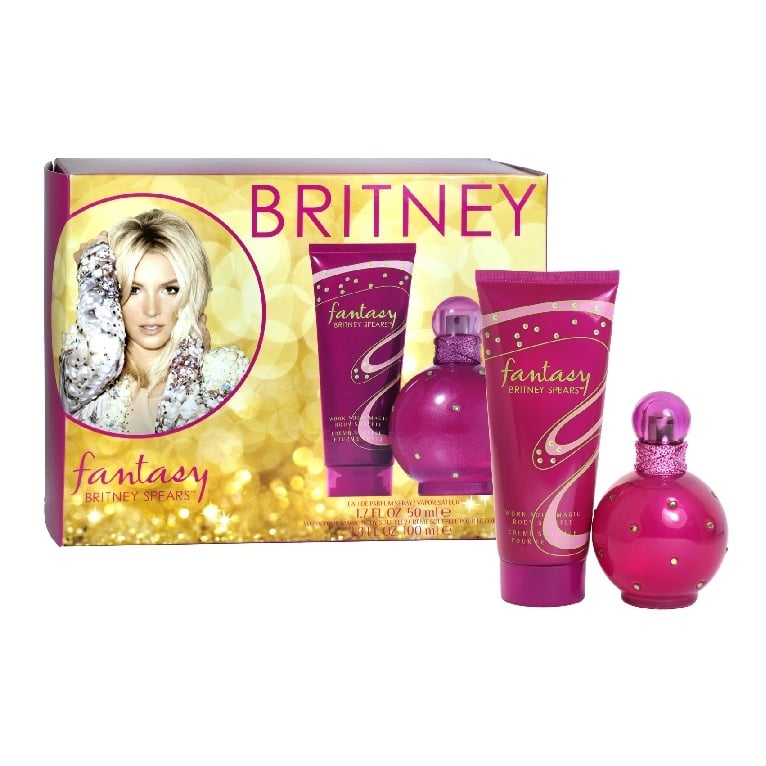 Britney Spears Fantasy - 50ml Gift Set With 100ml Body Lotion.