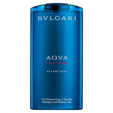 Bulgari Aqua Pour Homme Atlantique - 200ml Shampoo & Shower Gel