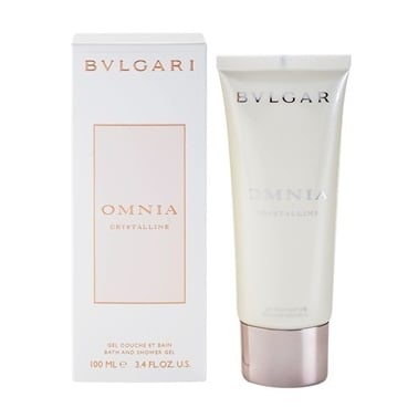 Bulgari Omnia Crystalline L'eau de Parfum 100ml Bath and Shower Gel.
