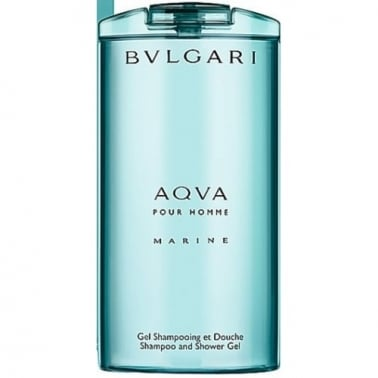 Bulgari Aqua Pour Homme Marine 200ml Shampoo & Shower Gel