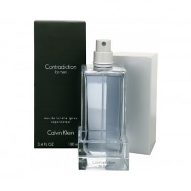 Calvin Klein Contradiction For Men - 100ml Eau De Toilette Spray
