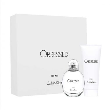 Calvin Klein Obsessed For Him - 75ml EDT Gift Set With 100ml Hair & Body Wash