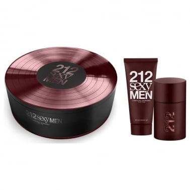 Carolina Herrera 212 Sexy Man - 50ml EDT Gift Set With 100ml Shower gel.