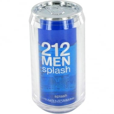 Carolina Herrera 212 Splash For Men - 100ml Eau De Toilette Spray.