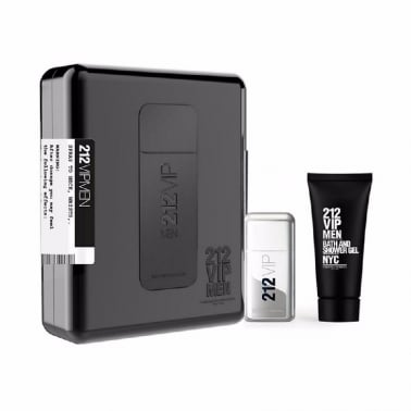 Carolina Herrera 212 VIP For Men - 50ml EDT Gift Set With 75ml Shower gel.